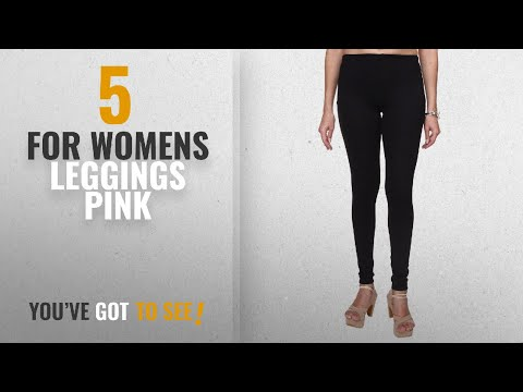 Top 10 For Womens Leggings Pink [2018]: Trasa Ultra Soft Cotton Churidar Solid Regular and Plus 35