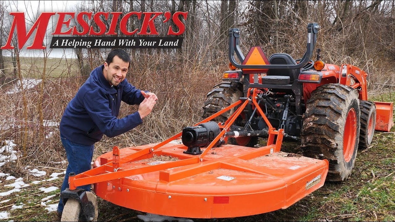 Brush mower features with the Land Pride RCR1872