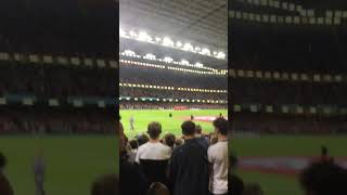 At wales v Spain last video ever