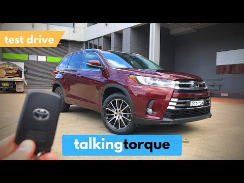 Toyota Kluger/Highlander - Urban Test Drive [POV]