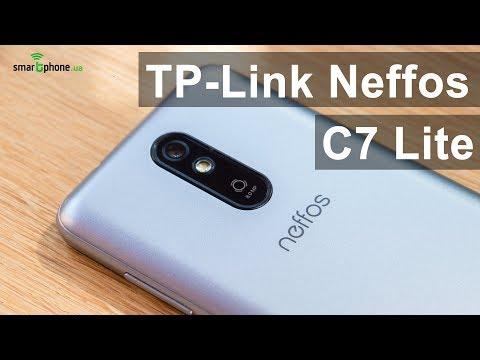 TP-Link Neffos C7 Lite - простой и доступный смартфон