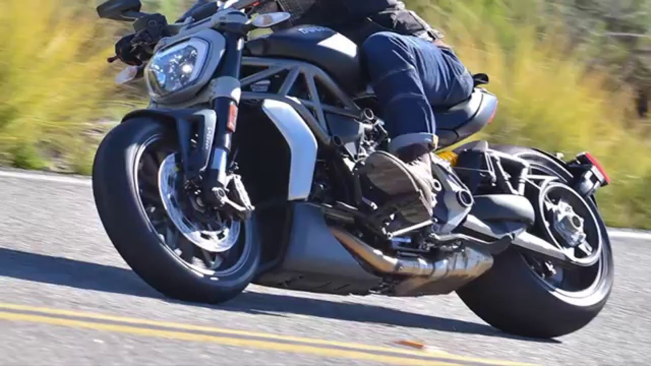 ducati xdiavel first ride - youtube