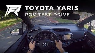 2017 Toyota Yaris 1.5 Hybrid - POV Test Drive