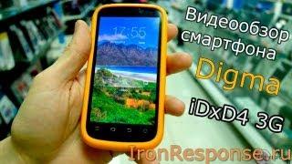 Обзор смартфона Digma iDxD4 3G (или планшета)