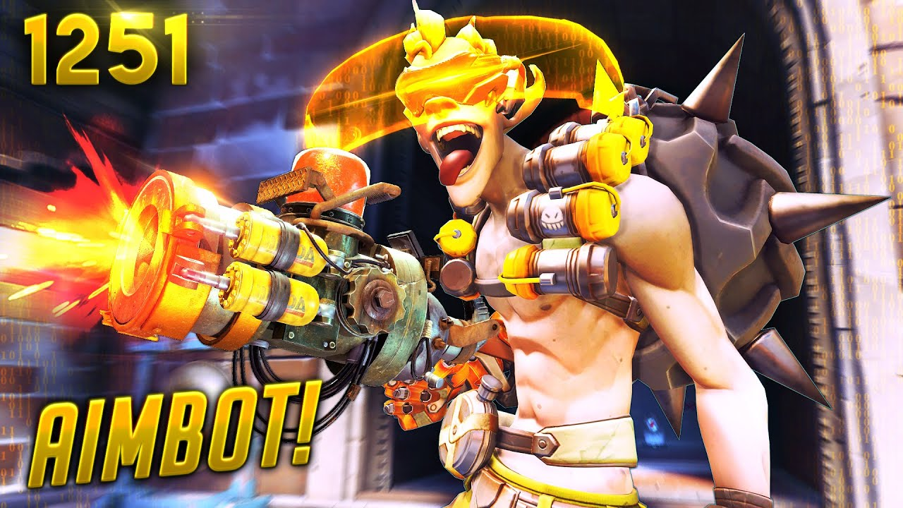 *LOL* A Junkrat WITH AIMBOT... | Overwatch Daily Moments Ep.1251 (Funny and Random Moments) thumbnail