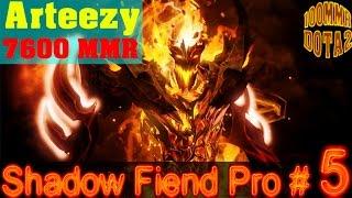 Dota 2 - Arteezy play Shadowfiend Pro (Fullgame Vol.5)