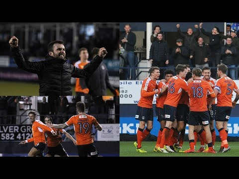 Matchday Vlog Luton Town vs Lincoln City - League 2 17/18