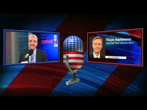 Thom Hartmann -- #1 Rated Liberal Talk Radio Host in American