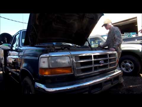 Ford Powerstroke with stiction fixed with cheap fast cure