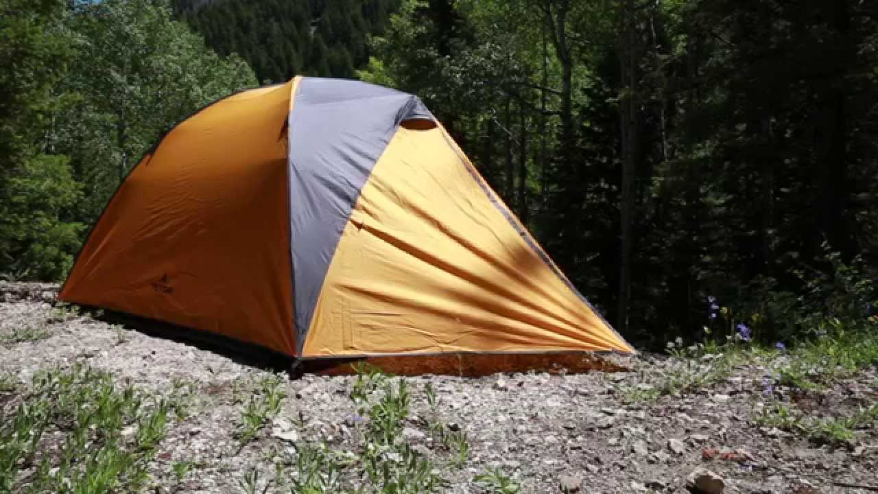 Setting Up The TETON Sports Mountain Ultra 2 3 and 4 Backpacking Tent - YouTube & Setting Up The TETON Sports Mountain Ultra 2 3 and 4 Backpacking ...