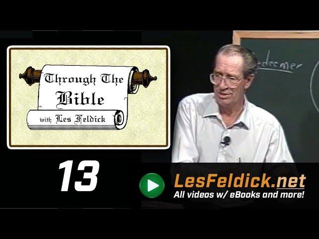 [ 13 ] Les Feldick [ Book 2 - Lesson 1 - Part 1 ] Adam & Eve's Faith & Salvation: Genesis 3:14-24