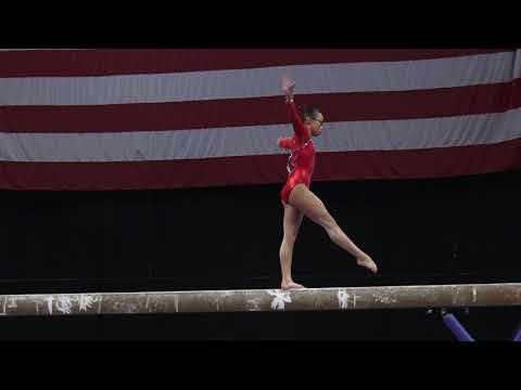 Morgan Hurd - Balance Beam – 2018 U.S. Gymnastics Championships – Senior Women Day 1