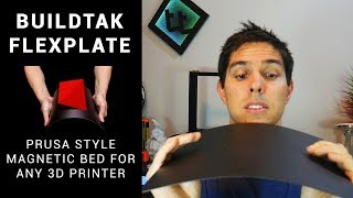 Buildtak Flexplate - Prusa style removable magnetic bed for any 3D printer