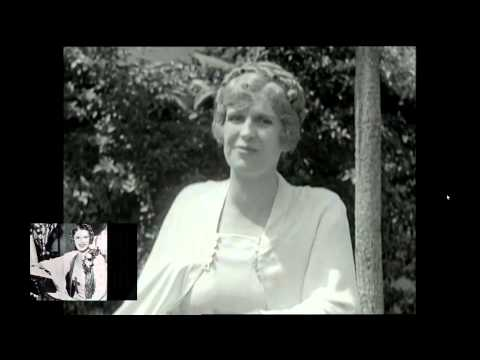 (1929) Aimee Semple McPherson at the Angelus Temple with her son