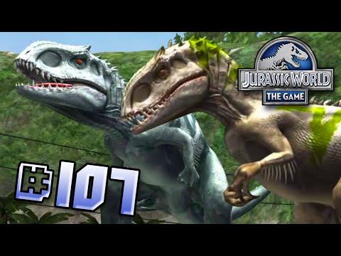 Indominus Rex Siblings Brawlasaurs!! || Jurassic World - The Game - Ep 107 HD