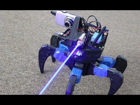 Homemade Laser Gun FPV Drone Bot