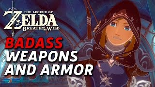 Early Weapons & Armor Gameplay **SPOILERS*** - Zelda: Breath of The Wild