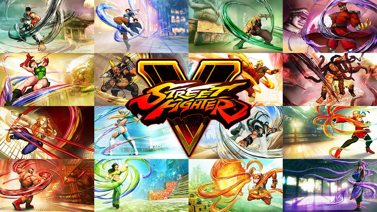 Street Fighter V All Original Character Reveal Trailers Compilation Youtube