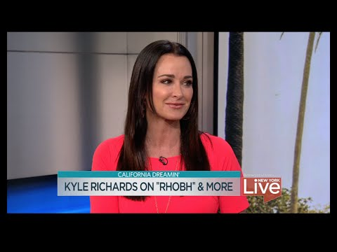 "Kyle Richards on ""RHOBH"" and more"