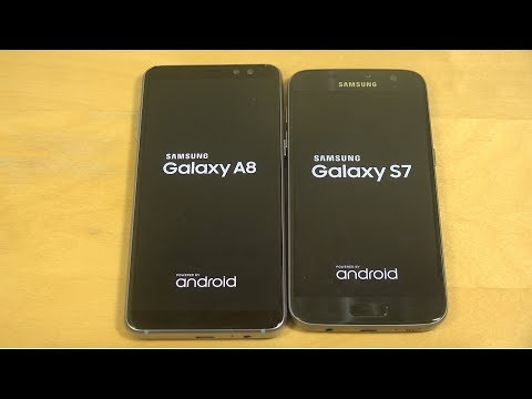 Samsung Galaxy A8 2018 vs. Samsung Galaxy S7 - Which Is Faster?