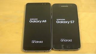 Samsung Galaxy A8 2018 vs. Samsung Galaxy S7 - Which Is Faster?