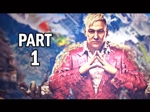 Far Cry 4 Walkthrough Part 1 - Pagan Min the King of Kyrat PS4 Gameplay Commentary