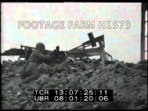 Cologne, 3rd Armored Division Street Fighting H1573-05 | Footage Farm