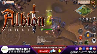 Albion Online Mobile - GAMEPLAY - Android/IOS MMORPG Game