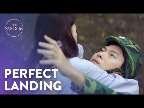 Son Ye-jin Crash Lands Onto Hyun Bin   Crash Landing On You Ep 1 [ENG SUB]