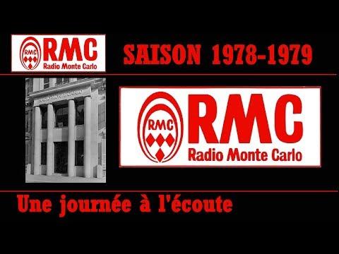 RMC RADIO MONTE CARLO EN 1978 UNE JOURNEE A L'ECOUTE AVEC LES ANIMATEURS ET LES INDICATIFS