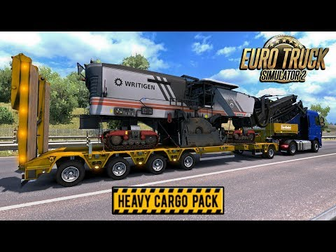 HEAVY CARGO | Euro Truck Simulator 2 | Episode 2