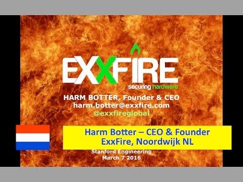Netherlands :: Harm Botter - ExxFire - Disrupting Fire Suppression - Mar 7 2016