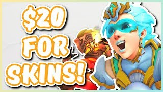 Overwatch - $20 FOR SKINS?! (All-Star Weekend Exclusive Skins)