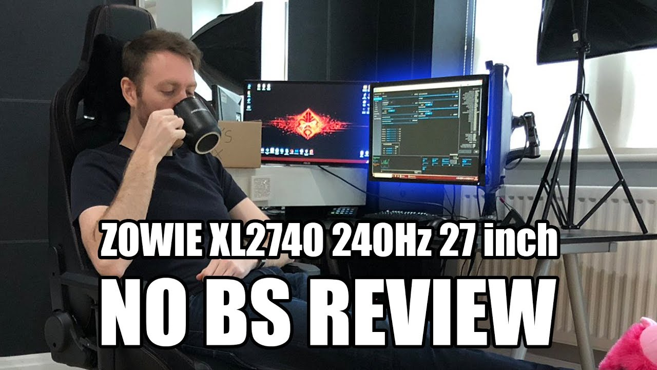 NO BS REVIEW ZOWIE XL2740 240Hz 27inch Esports Monitor