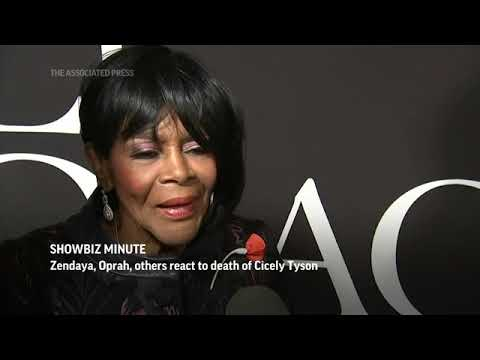 Zendaya, Oprah, others react to death of Cicely Tyson