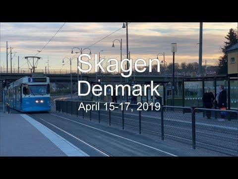 Skagen, Denmark, April 15-17, 2019 (4K)