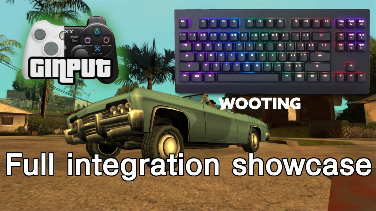 GInput for Wooting by Silent | Wooting dev portal