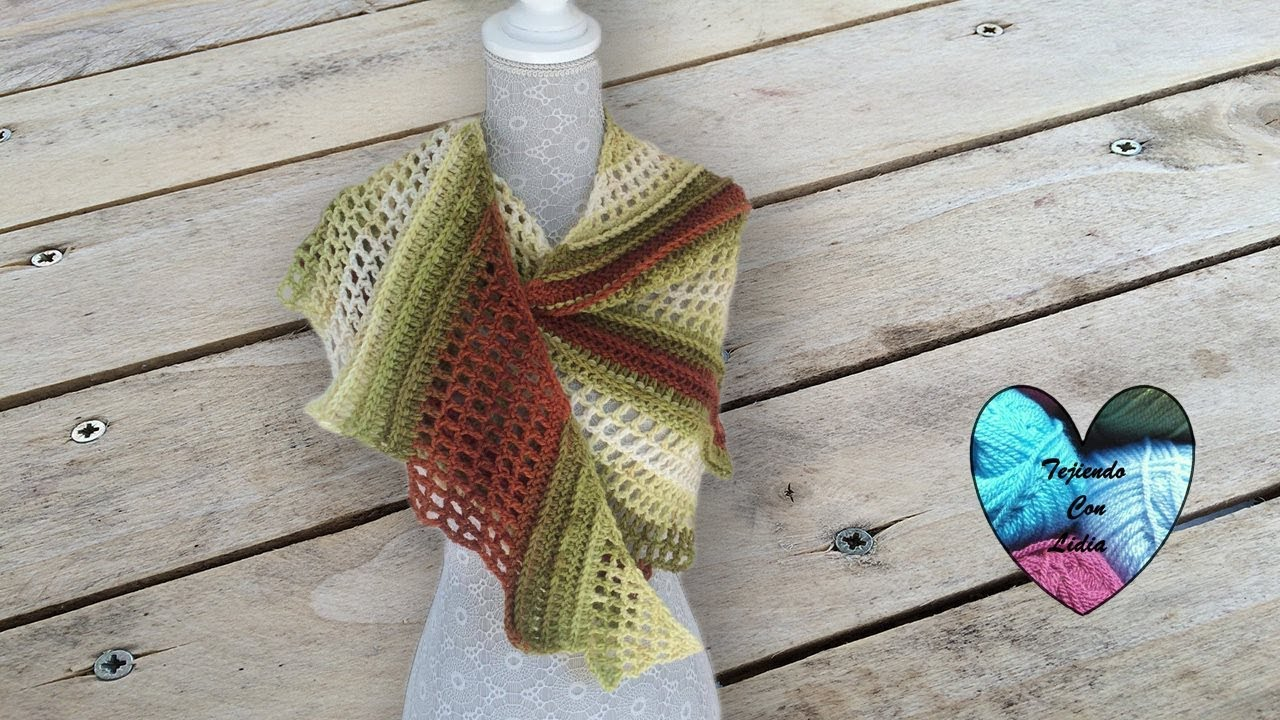 Chal cola de dragon tejido a crochet paso a paso - YouTube