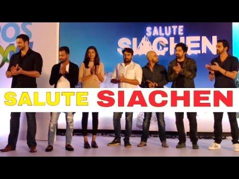 UNCUT: SALUTE SIACHEN | Arjun Rampal, Rannvijay Singh, Arunoday Singh & Others