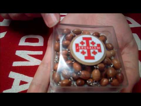 Jerusalem Rosary Olive Wood Equestrian Order Review