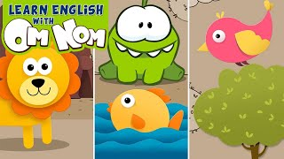 What is it - A lion, a fish or a bird? Learn Animal Names for Kids | Educational Cartoons by Om Nom
