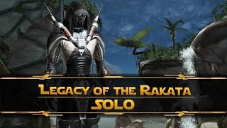 SWTOR - Legacy of the Rakata Solo [Emperor