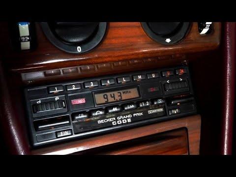 Radio Becker Grand Prix BE0779 w Mercedesie W124