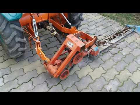 Cositoare motocultor  - adaptare la tractoras Pasquali la sistem de prindere in 3 puncte