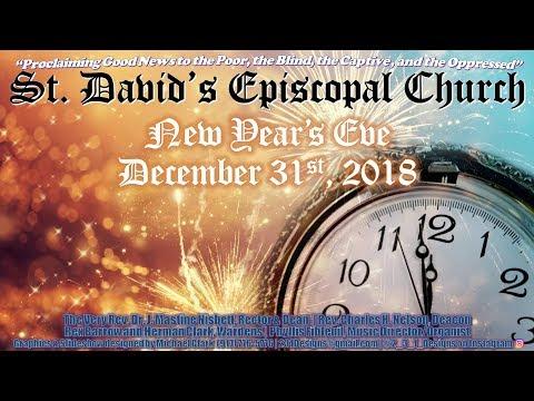 Saint David's Episcopal Church - New Year's Eve 2018-19