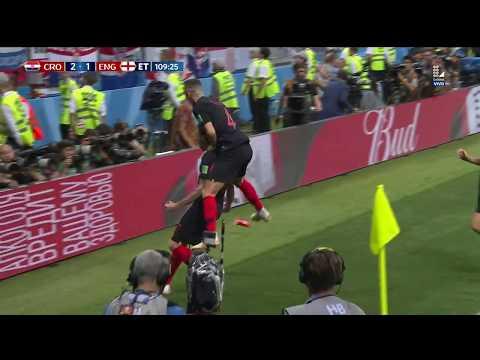 ¡SEGUNDO GOL DE CROACIA EN LOS SUPLEMENTARIOS!   Croacia vs Inglaterra