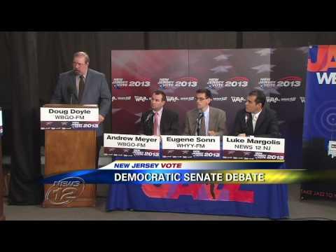 NJ Dem Primary Senate Primary Debate 8.8.2013 Part I
