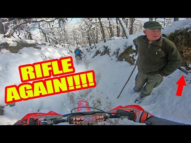 Dirtbikes, Snow & Sun! Winter Fun With Motorcycles! 2019