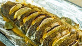 Рецепт запеченного судака в духовке | Рецепт приготовления рыбы