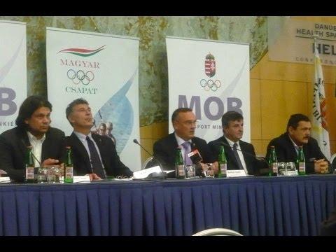 Magyar Olimpiai Bizottság rendkívüli közgyűlése - 2013. június 3.